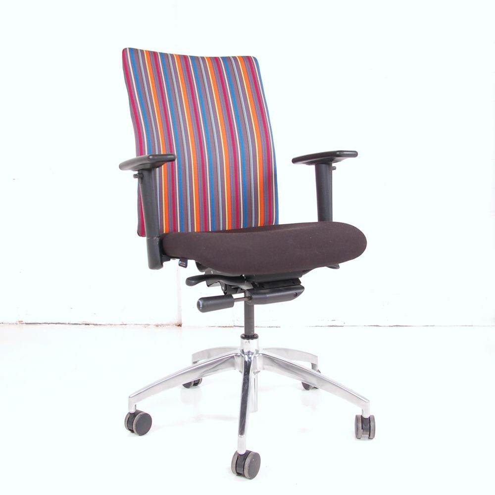 used computer chairs what are wheelchairs made out of paul smith vector operator chair | stripe stripy