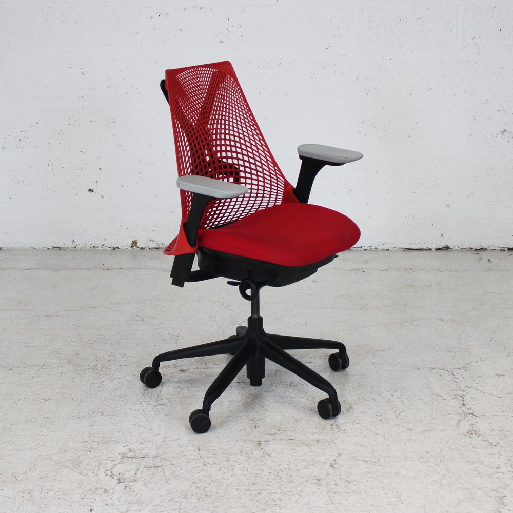Herman Miller Sayl Chair Red Computer Chair Ergonomic
