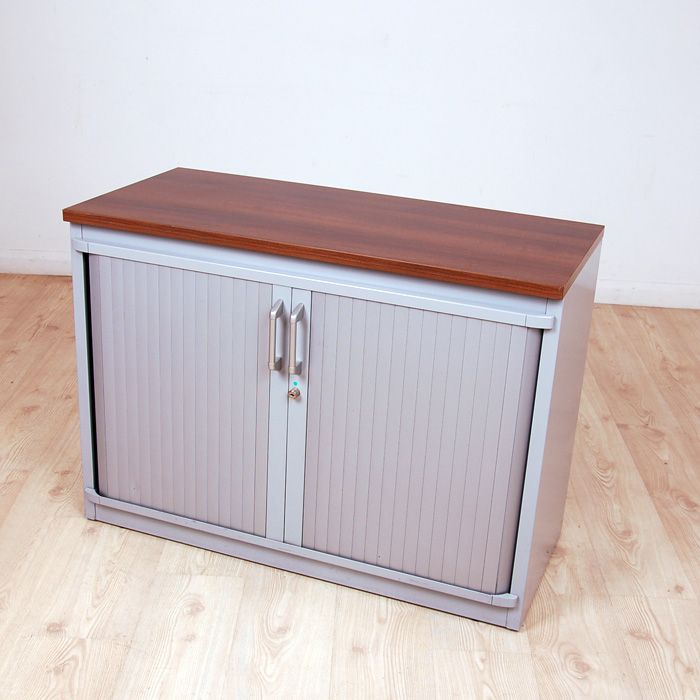Steelcase Tambour Unit 725mm high  cupboard with sliding