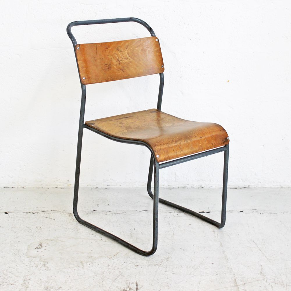 Vintage School Chair  Old School Chair  Old Wooden Chair