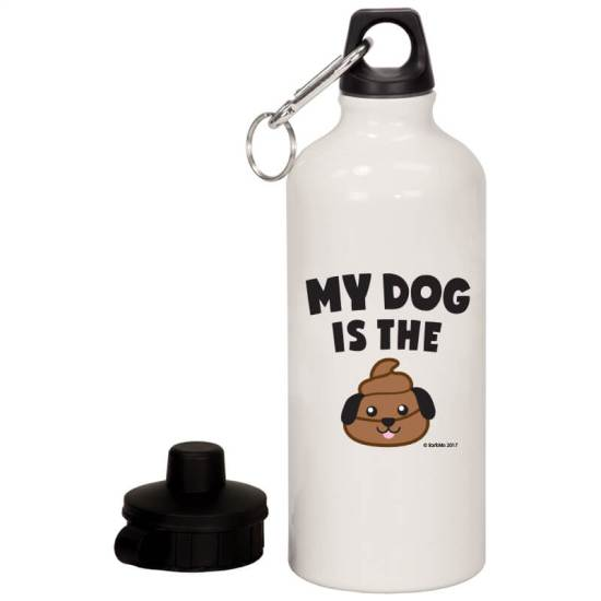 My Dog Is the Poop - water bottle