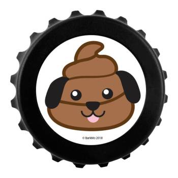 Dog Poop Emoji Bottle Cap Magnetic Bottle Opener