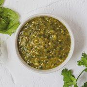 homemade tomatillo salsa verde