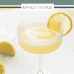 lemon drop martini pin