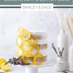 lemon lavender cake pin