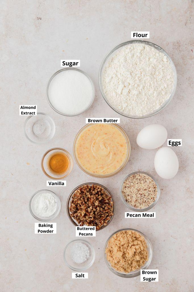 pecan biscotti ingredients shot