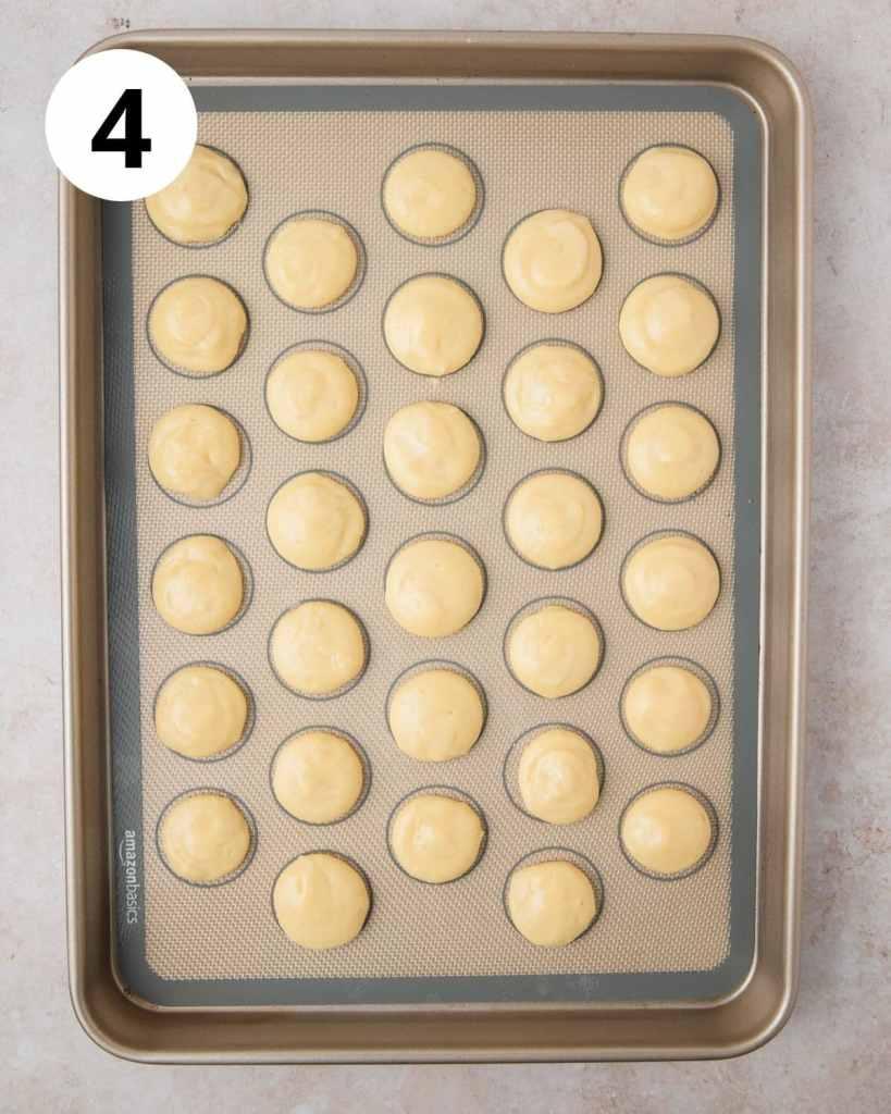 cream puffs before baking