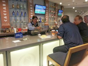 Bland Club level bar at Citi Field