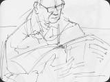 Zeichnungen von Bernhard Bettschen, Berner Oberland