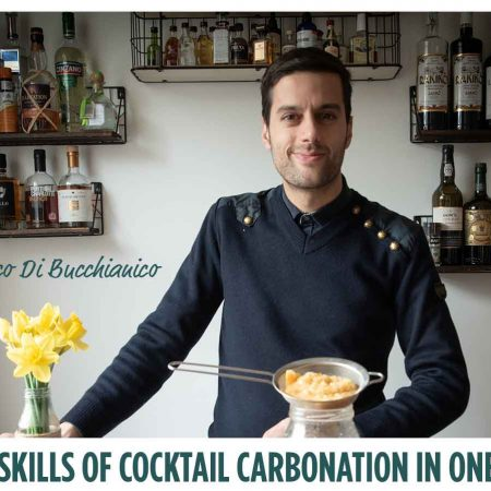MASTER THE SKILLS OF COCKTAIL CARBONATION IN ONE HOUR.