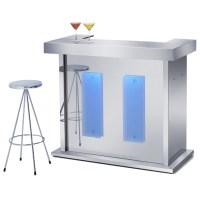 Quenchito LED Home Bar | Contemporary Home Bars Bar ...