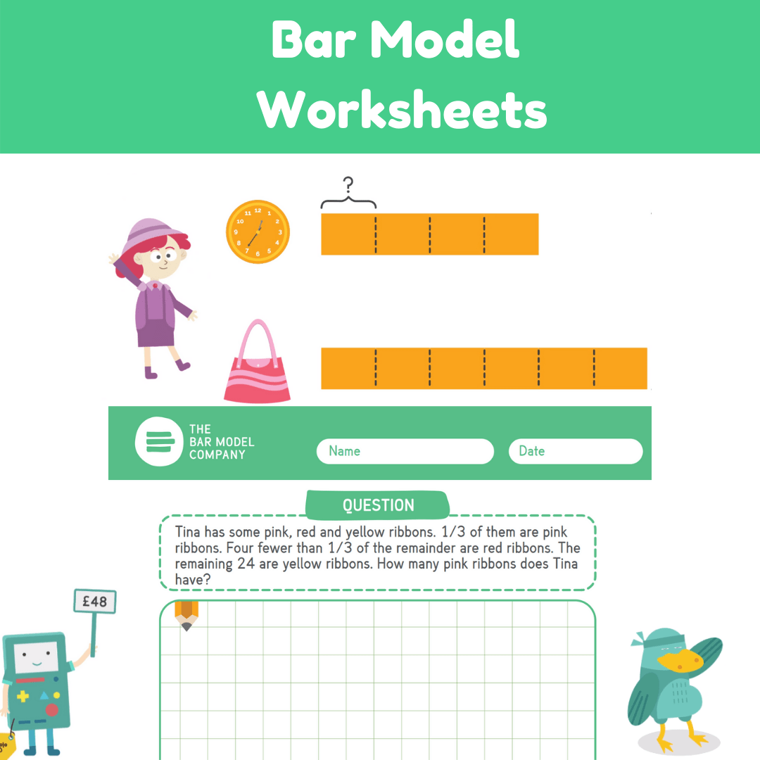 Bar Model Worksheets And Solutions