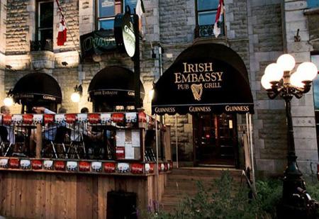 Irish Embassy  Bar Montreal