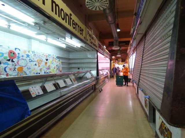 Las paradas del Mercado del Carmel