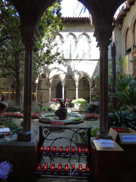 claustro de la basílica de la purisima concepcion