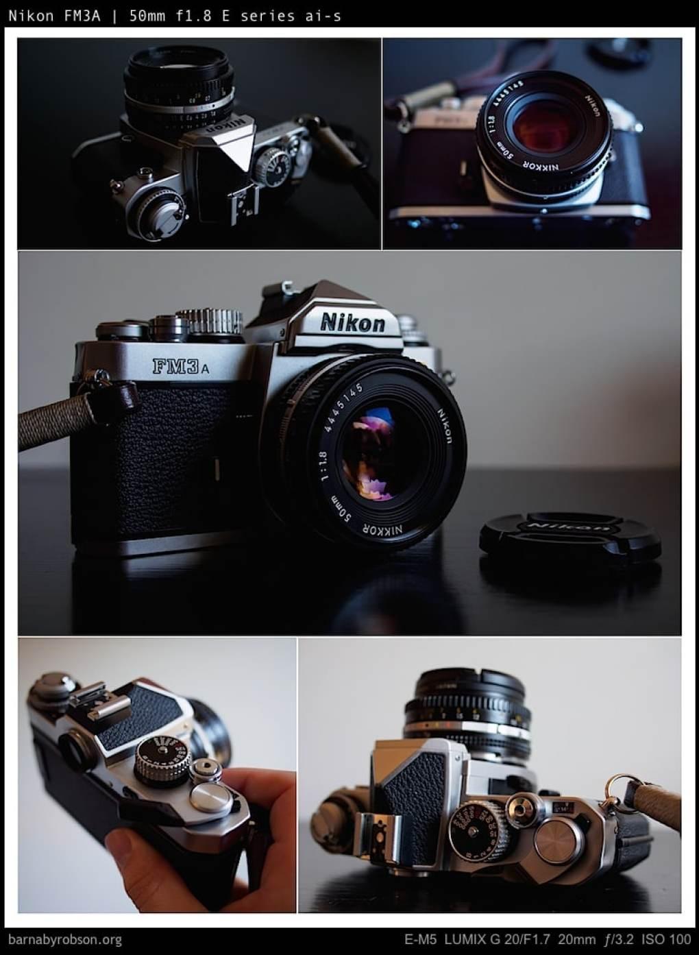 Nikon FM3A camera porn