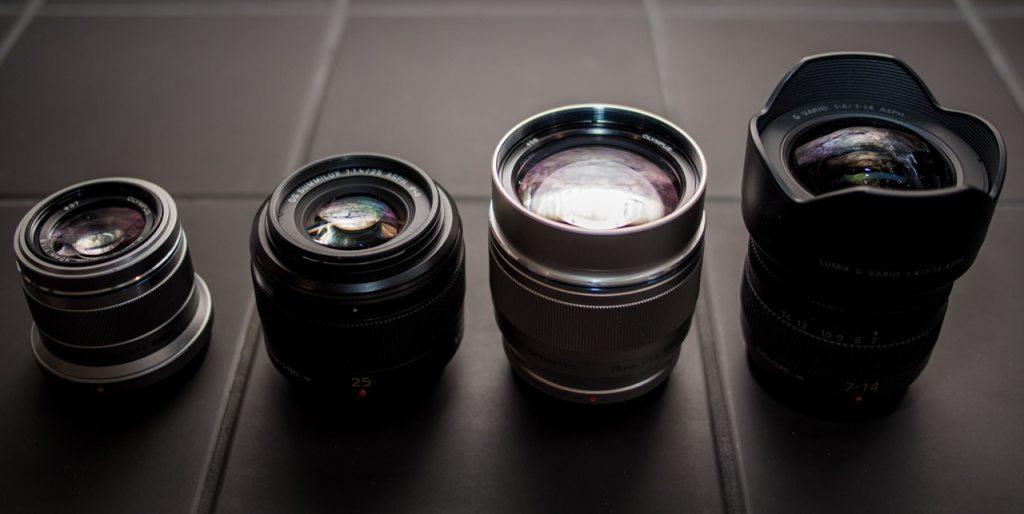Micro 4/3 lens porn.