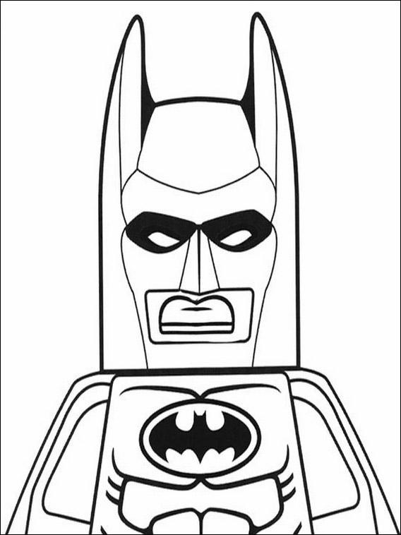 Lego Batman Målarbilder för barn 29