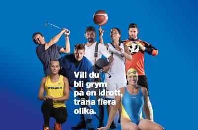 Vill du bli grym på en idrott – träna flera