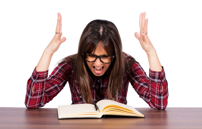Image result for images of angry reader