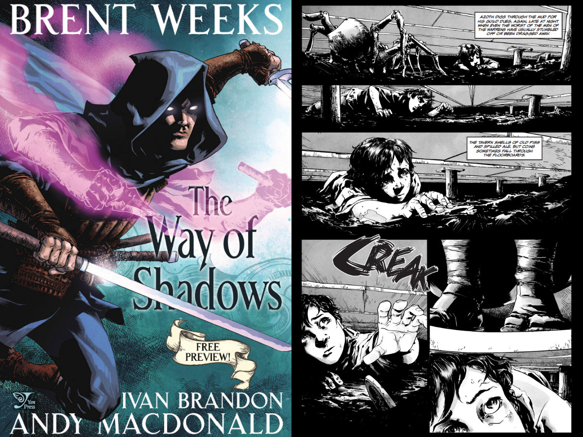 Image result for the way of shadows graphic novel
