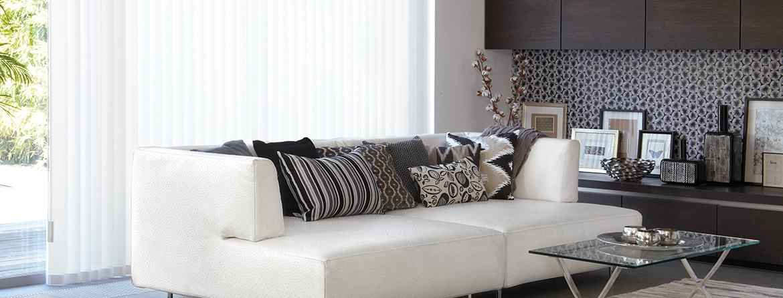 Living Room Vertical Blinds
