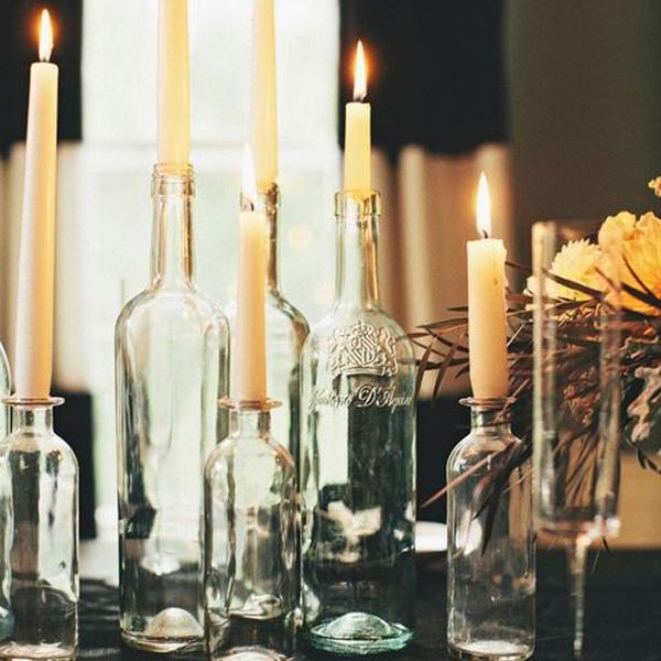 halloween decor - candles