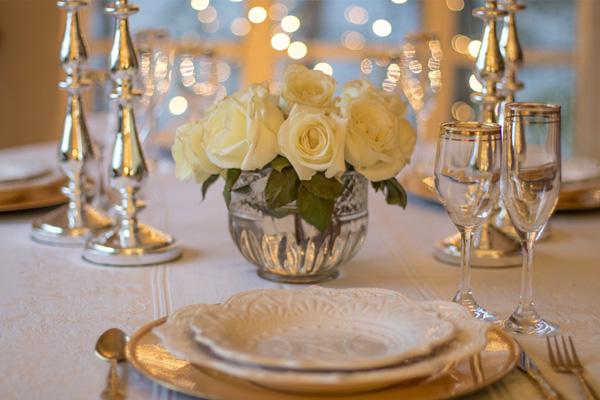 valentines tableware