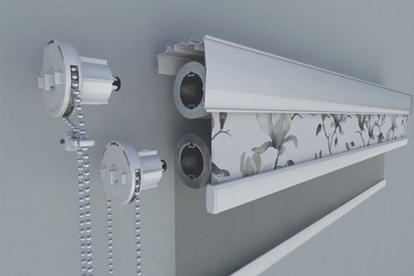 double roller blind bracket technical