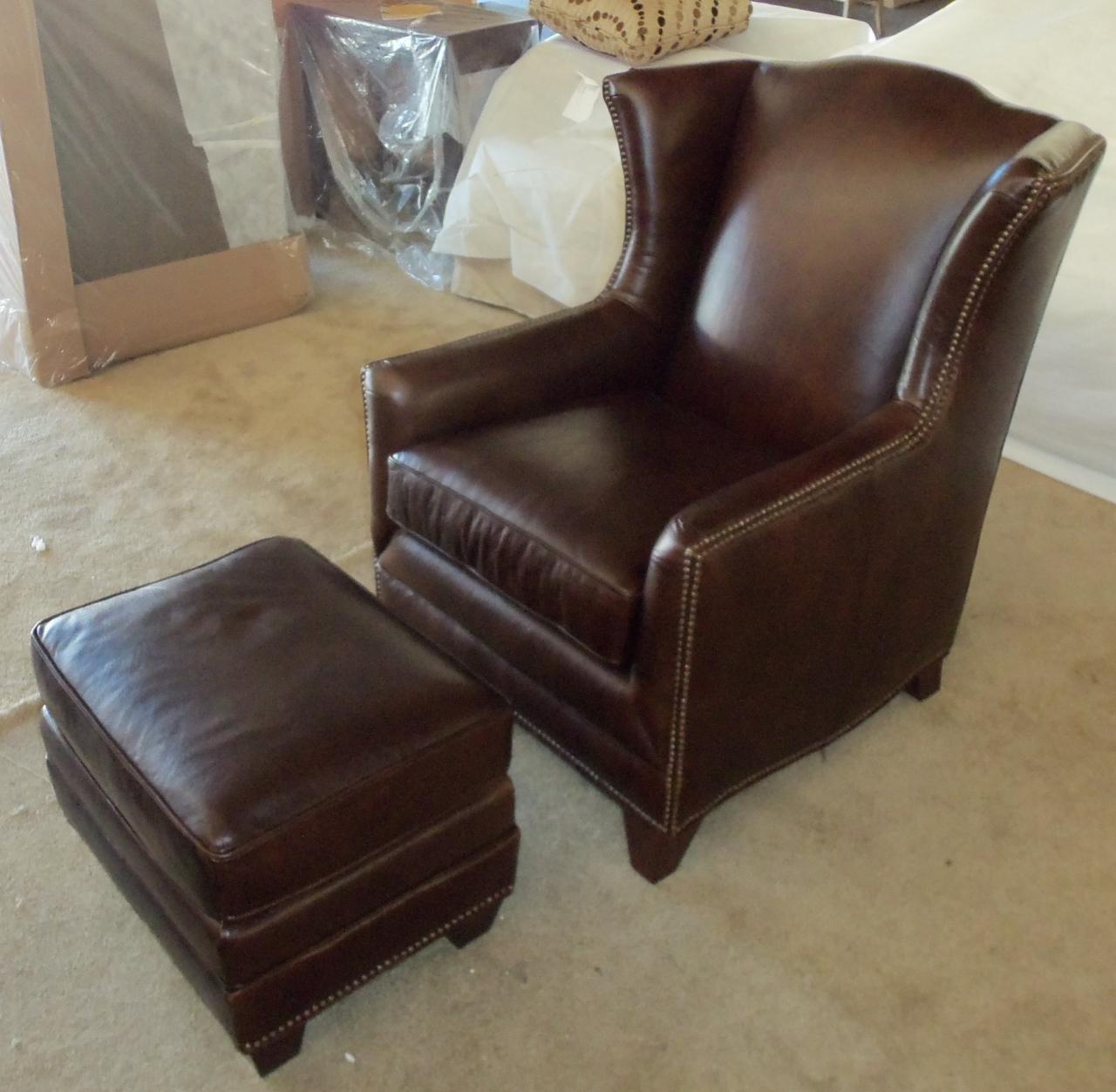 Barnett Furniture  King Hickory Athens chair