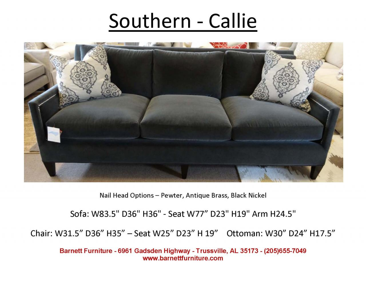 king hickory sofa winston queen size sleeper sofas southern furniture callie