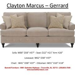 Average Size Of A Sofa Top American Made Sofas Barnett Furniture 84 Quot 89