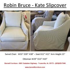 Living Room Chair Slipcovers Images Of Small Furniture Arrangements Barnett Slipcover Sofas Sectionals And Ottoman Robin Bruce Kate Swivel