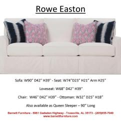 Rowe Masquerade Sectional Sofa Teak Wood Rate In Chennai Slipcover Bed Louis Thesofa