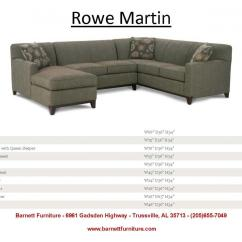 Rowe Masquerade Sectional Sofa Colour Ideas For Living Room With Red Barnett Furniture - Sectionals
