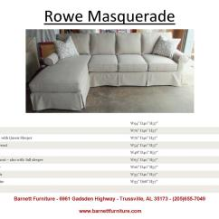 Rowe Nantucket Sofa Slipcover Replacement Store Dundee Slipcovers Elegant Leachco The Natural