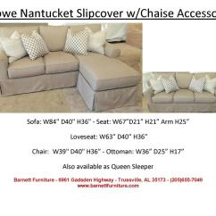 Rowe Nantucket Sofa Slipcover Replacement Cama Design Costa Rica 2 Cushion Baci Living Room