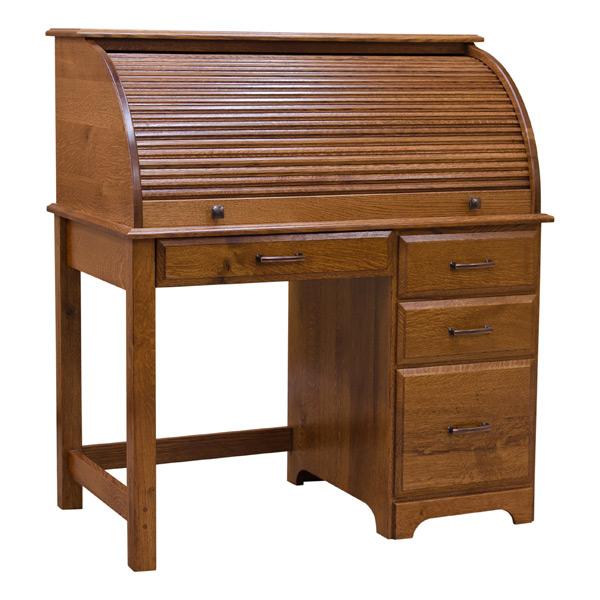 Small Roll Top Desk  Desks  Barn Furniture