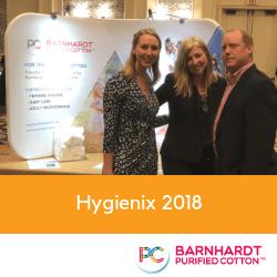 Barnhardt Team Visits Orlando for Hygienix 2018