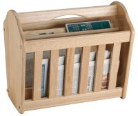 Apollo Housewares Rubberwood Magazine Rack at Barnitts ...