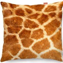 Kitchen Fruit Basket Geeky Gadgets Kico Animal Skin 45x45cm Funky Sofa Cushion - Giraffe At ...