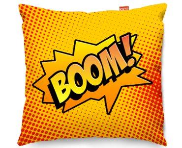 Kico Comic Pop Art 45x45cm Funky Sofa Cushion Boom At Barnitts Online Store UK Barnitts