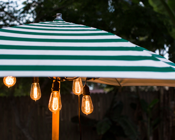 Outdoor Cafe String Lights Barn Light Electric