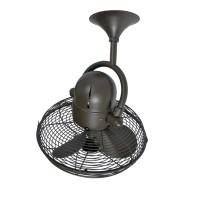 Loren Oscillating Wall or Ceiling Fan   Barn Light Electric