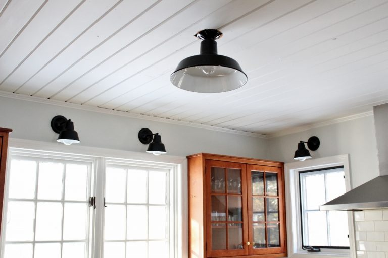 red and black living room sets navy grey ideas mini artesia wall sconce, shade sconce | barn light ...