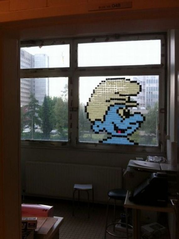 Cool PostIt Note Office Art  Barnorama
