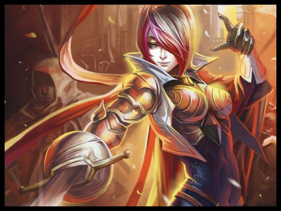 Hd Wallpapers Of Cute Boy And Girl Popular Game Series League Of Legends Barnorama