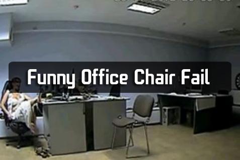 Funny Office Chair Fail  Barnorama