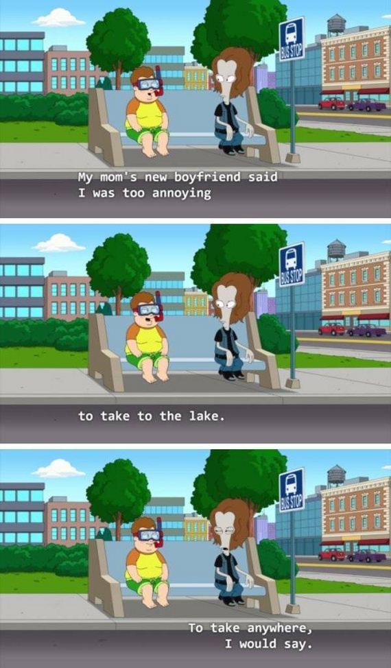 American Dad Jokes Barnorama