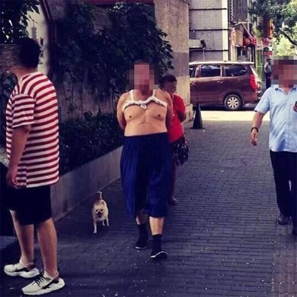 The Beijing Bikini The Weirdest Chinese Mens Fashion